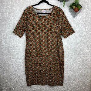 NWOT LuLaRoe Julia Dress   3XL